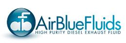 AirBlueFluids Logo Diesel Exhaust Fluid